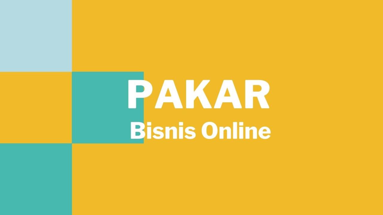 Pakar Bisnis Online